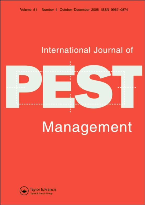 Cover image - International Journal of Pest Management