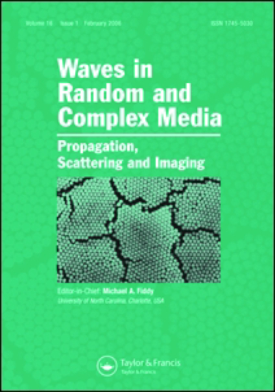 Cover image - Waves in Random and Complex Media