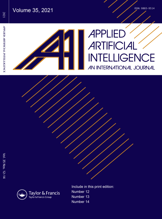 Cover image - Applied Artificial Intelligence