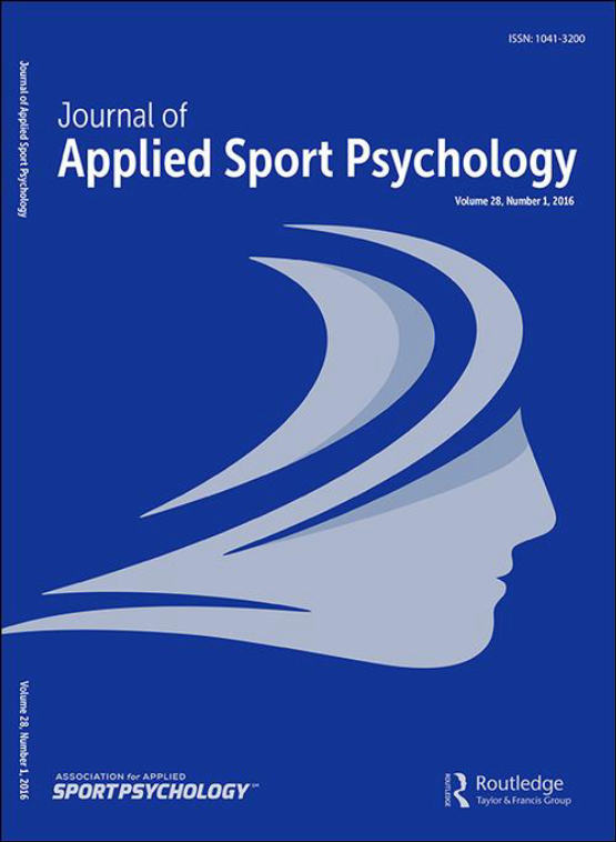 Cover image - Journal of Applied Sport Psychology