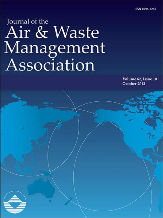 Cover image - Journal of the Air & Waste Management Association