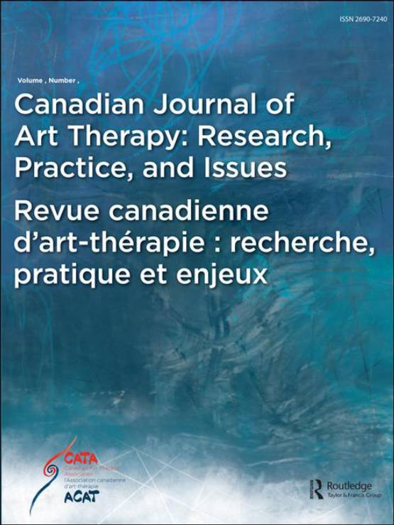 Cover image - Canadian Journal of Art Therapy