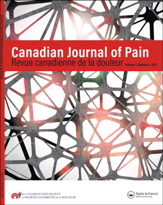 Cover image - Canadian Journal of Pain