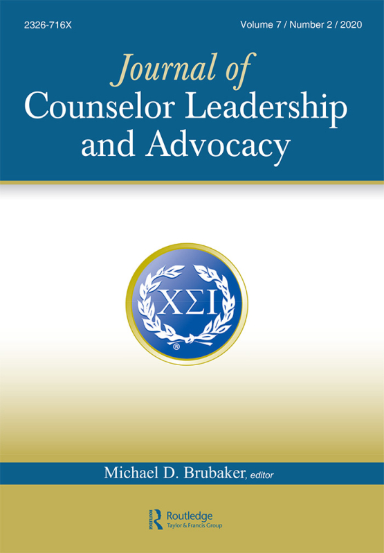 Cover image - Journal of Counselor Leadership and Advocacy