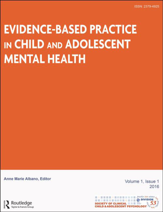 Cover image - Evidence-Based Practice in Child and Adolescent Mental Health