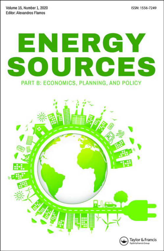 Cover image - Energy Sources, Part B