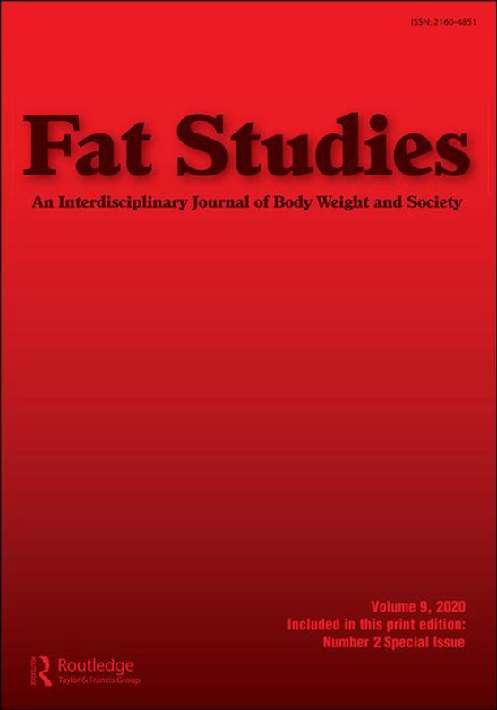 Cover image - Fat Studies