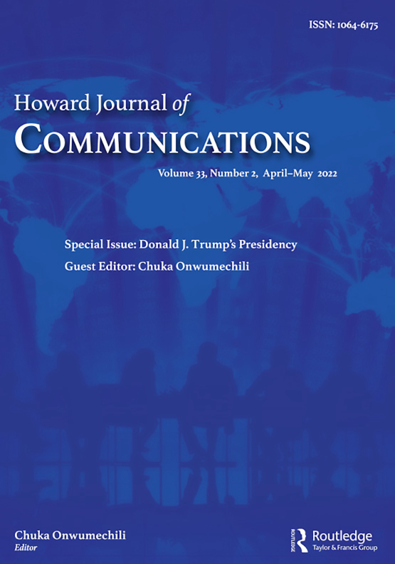 Cover image - Howard Journal of Communications