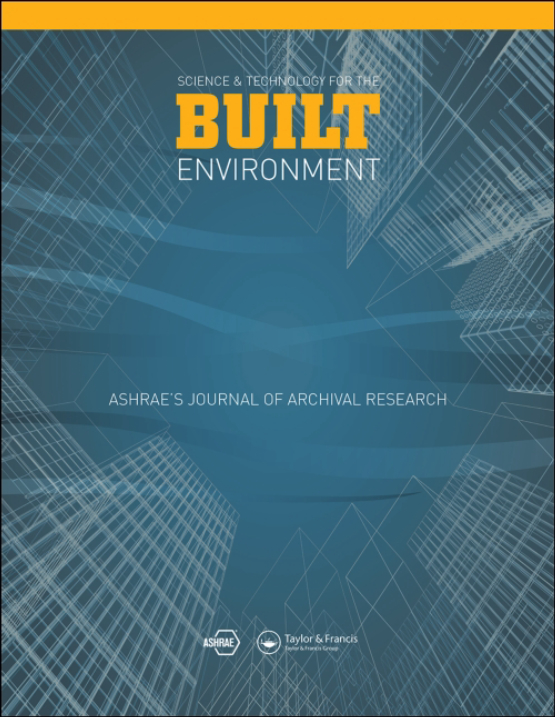 Cover image - Science and Technology for the Built Environment