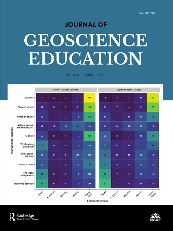 Cover image - Journal of Geoscience Education
