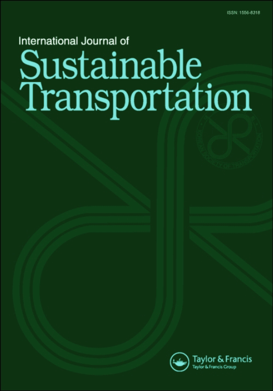 Cover image - International Journal of Sustainable Transportation