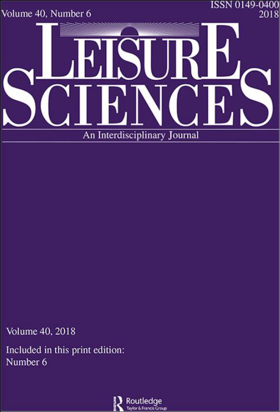 Cover image - Leisure Sciences