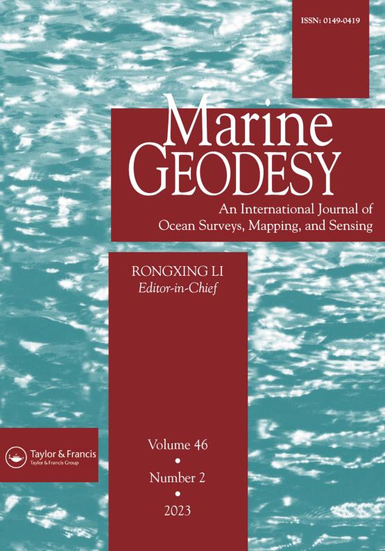 Cover image - Marine Geodesy