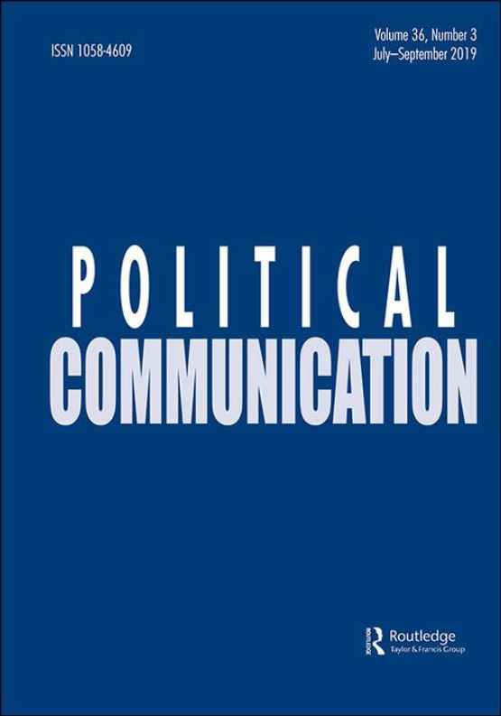 Cover image - Political Communication