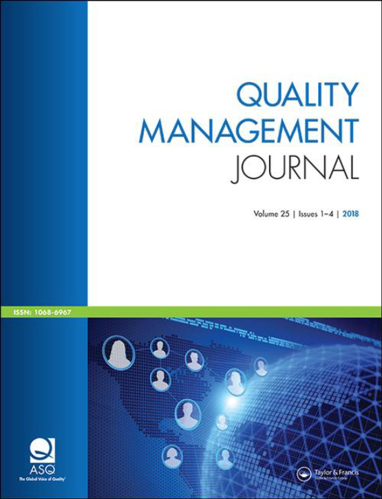 Cover image - Quality Management Journal