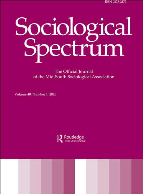 Cover image - Sociological Spectrum