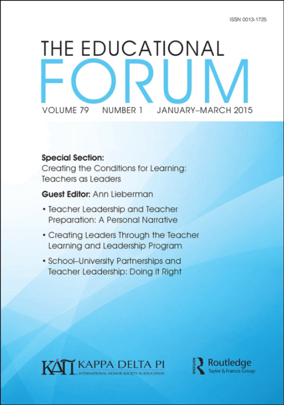 Cover image - The Educational Forum
