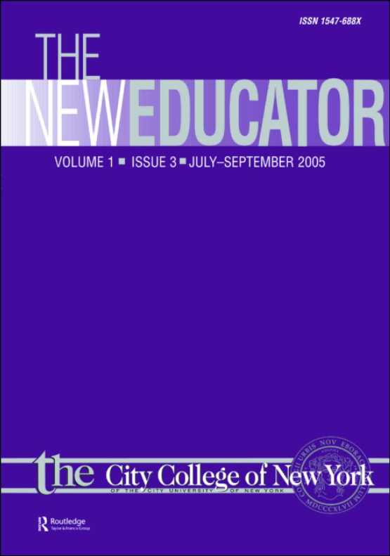 Cover image - The New Educator