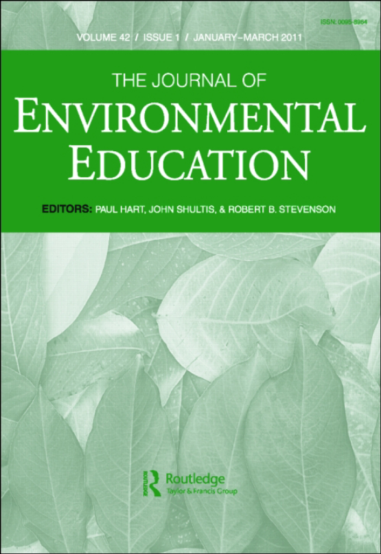 Cover image - The Journal of Environmental Education