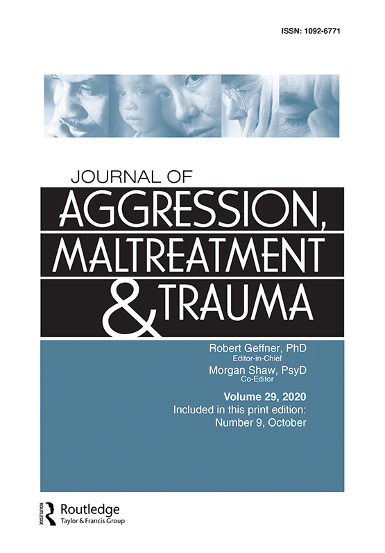 Cover image - Journal of Aggression, Maltreatment & Trauma