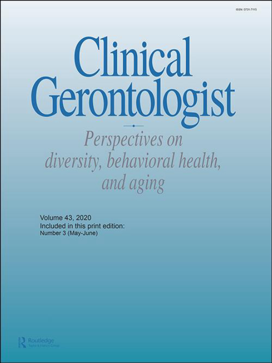 Cover image - Clinical Gerontologist
