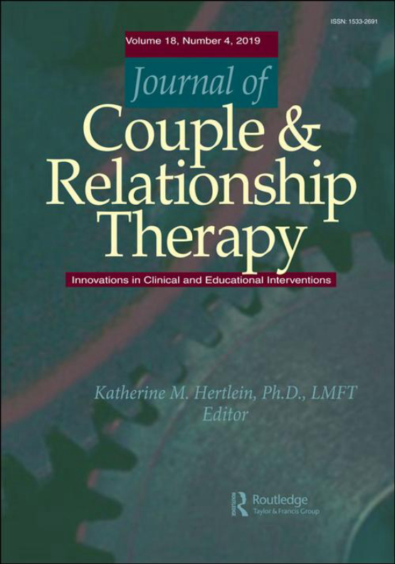 Cover image - Journal of Couple & Relationship Therapy