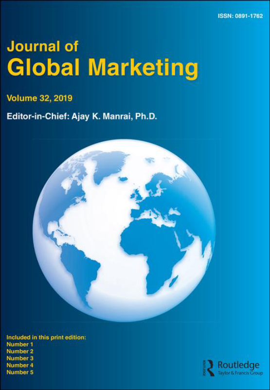 Cover image - Journal of Global Marketing