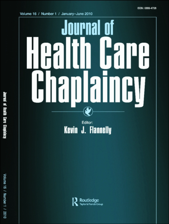 Cover image - Journal of Health Care Chaplaincy