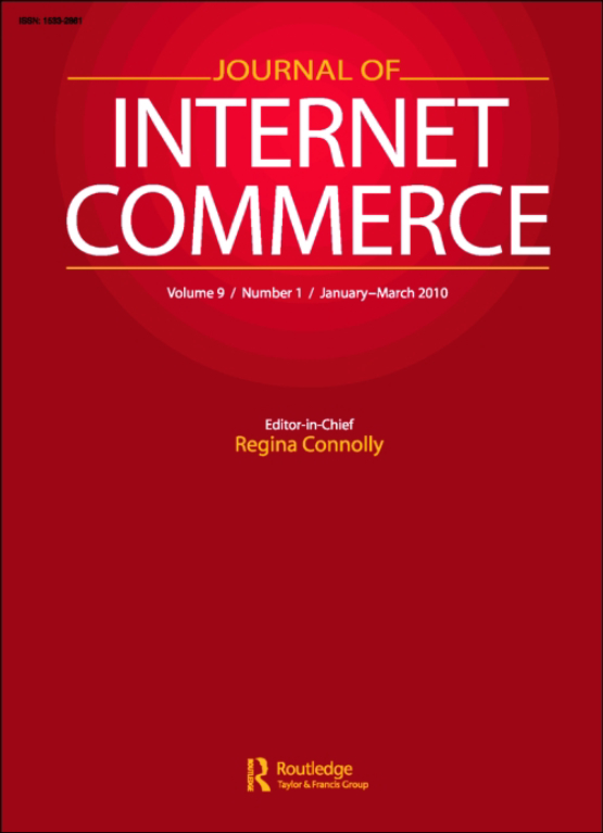Cover image - Journal of Internet Commerce