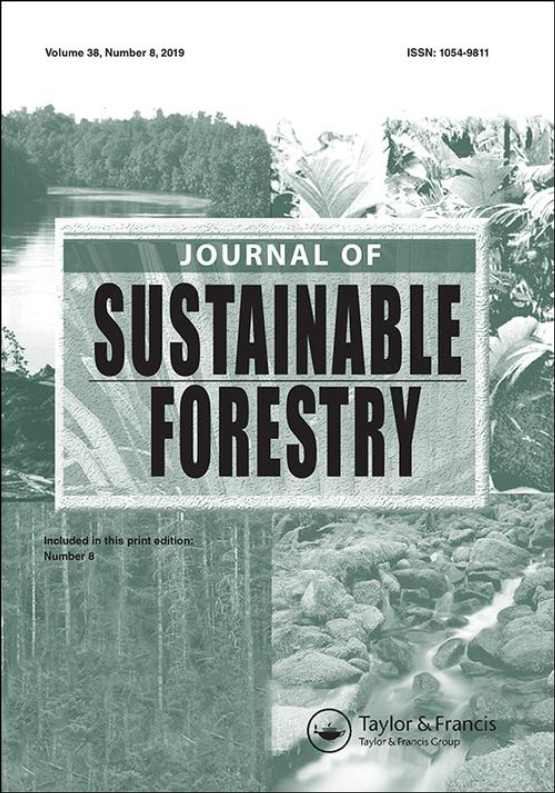 Cover image - Journal of Sustainable Forestry