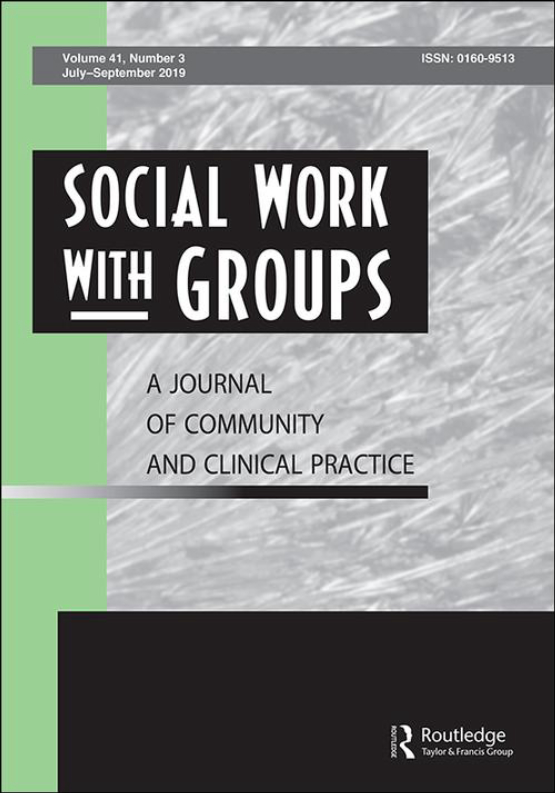 Cover image - Social Work with Groups