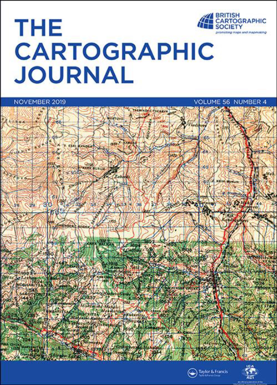 Cover image - The Cartographic Journal