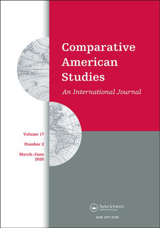 Cover image - Comparative American Studies An International Journal