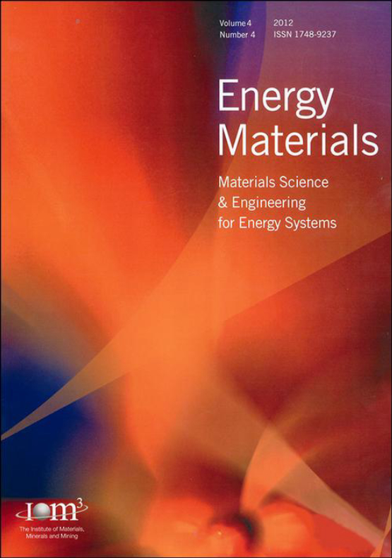 Cover image - Energy Materials