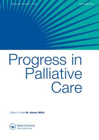 Progress in Palliative Care