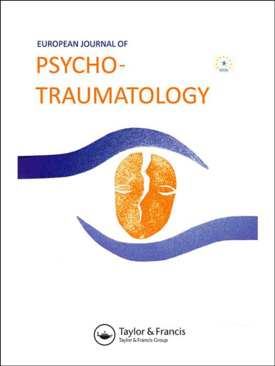 Cover image - European Journal of Psychotraumatology